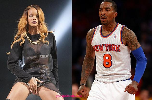 rihanna addresses jr smith dating rumors goes on
